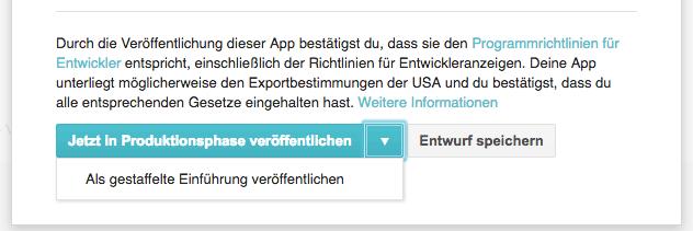 Google Play Store - Gestaffelte Einführung für Android Apps